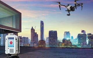 Luftbildvermessung und 3D-Laserscanning