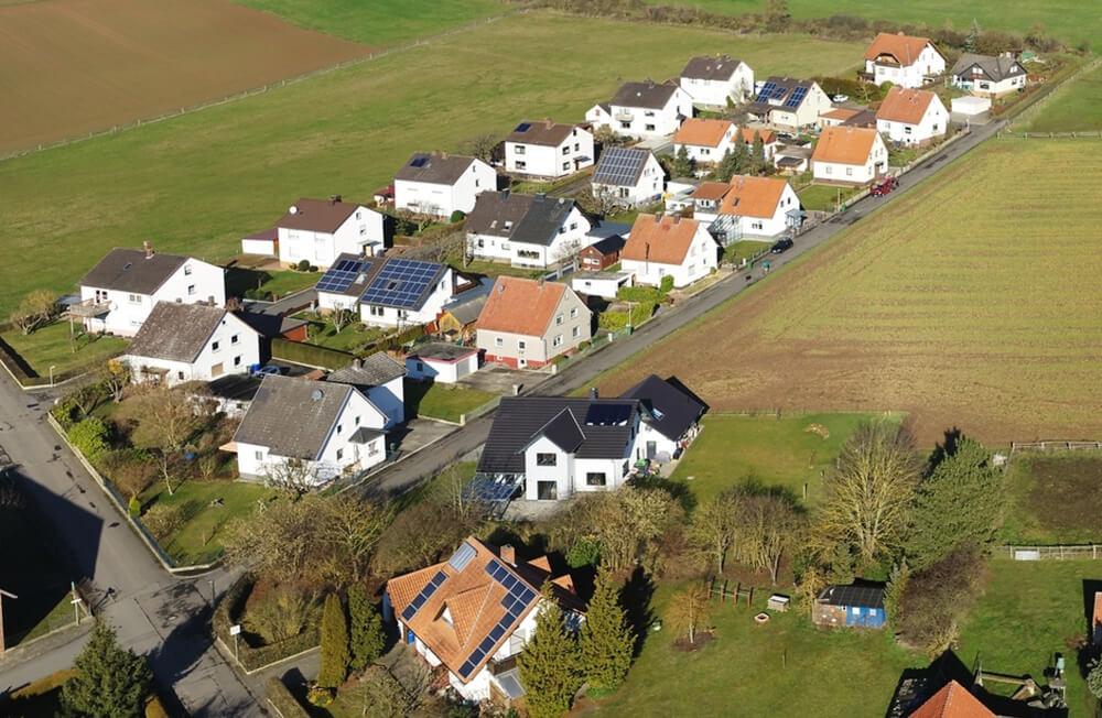 panorama-aufnahme kommune