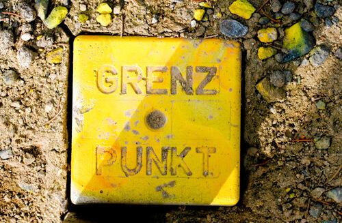 grenzpunkt, grenzstein, grenzmarkierung