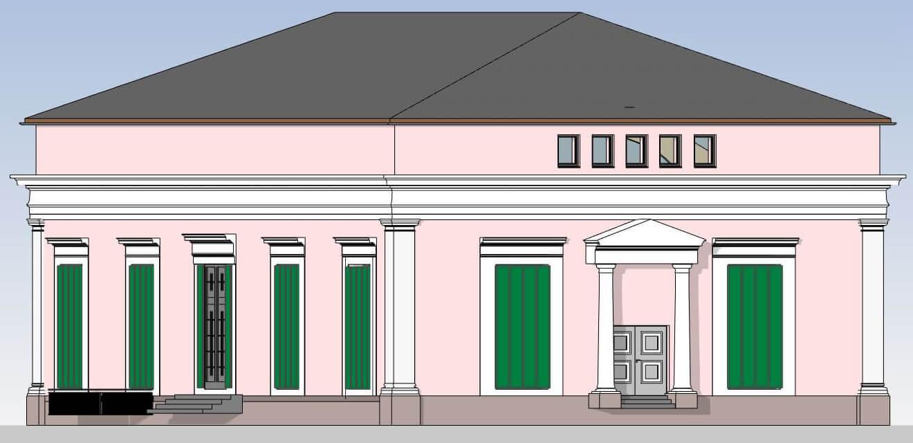 BIM, Building Information Modeling, Ballhaus, Kassel, Vermessungsbüro