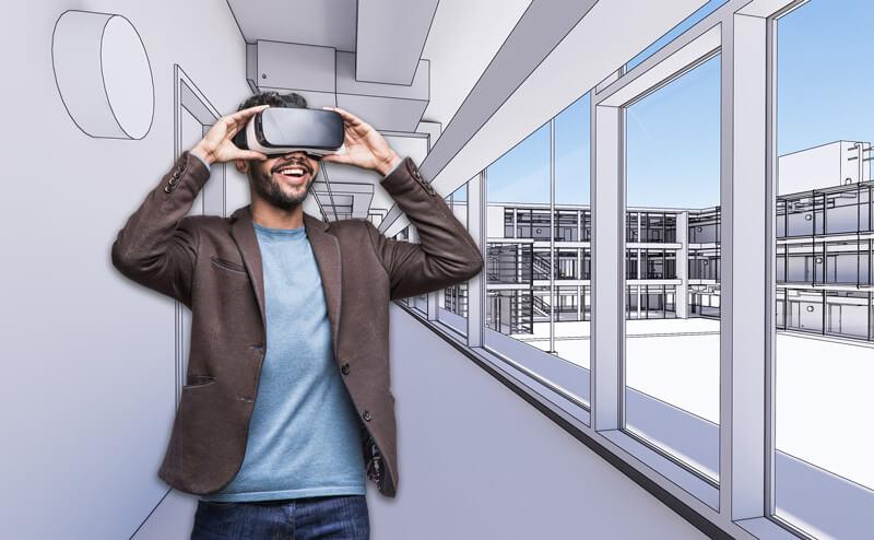 Kombination aus BIM + VR