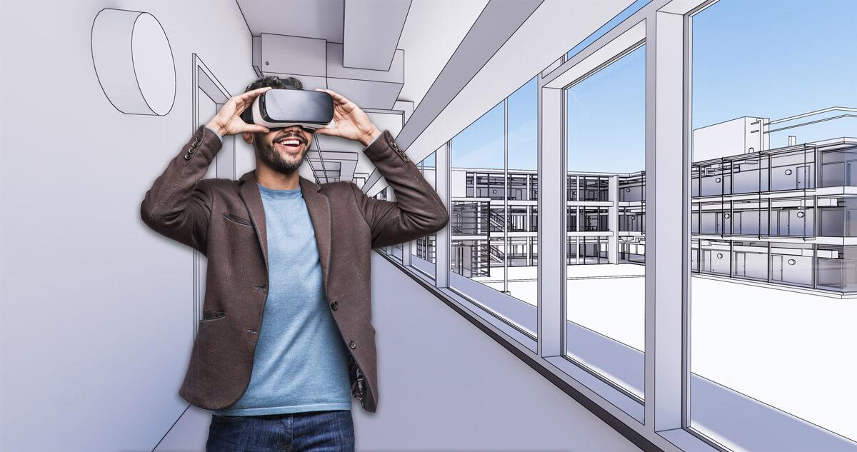 BIM, Building Information Modeling, vermessungsbüro, 3d-laserscanning, vr, virtuelle realität