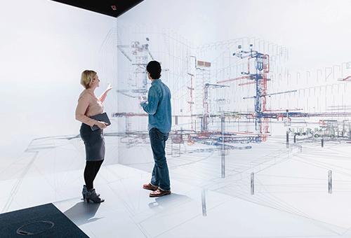 Virtuelle Bauplanung (Symbolbild). Bild: Ludmilla Parsyak Fraunhofer IAO
